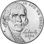 New Nickel Obverse